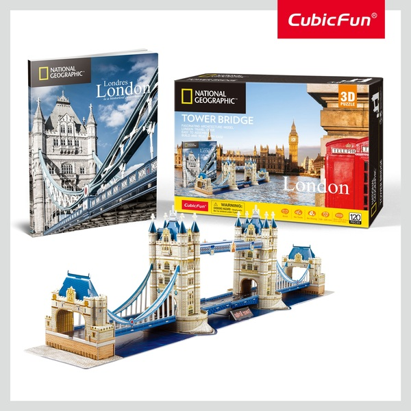 CubicFun: City Traveller London 120 darabos 3D puzzle