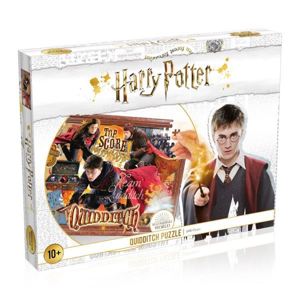 Harry Potter: Quidditch 1000 darabos puzzle
