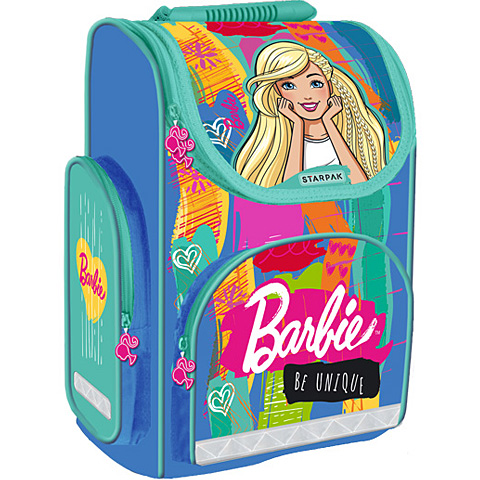 Starpak Barbie Be unique ergonómikus iskolatáska