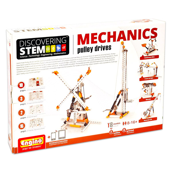 Engino Discovering Stem Mechanics: Scripeţi