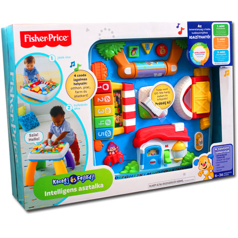 Fisher-Price kétnyelvű intelligens asztalka