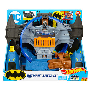 Hot Wheels City: Batman barlangja szett