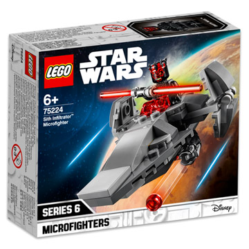 LEGO Star Wars: Sith Infiltrator Microfighter 75224